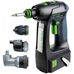 Festool Perceuse-visseuse sans fil C 15 Li 5,2 Set