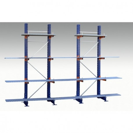 Rayonnages Cantilevers pour stockage de charges